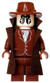 Rorschach (Walter Joseph Kovas - Watchmen) Brown - Custom Designed Minifigure